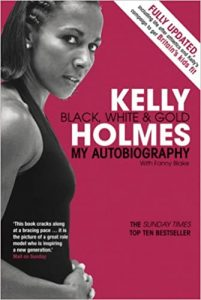 Kelly Holmes Black White and Gold