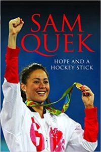 Sam Quek Hope and a Hockey Stick