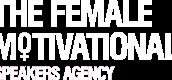 Female Motivational Speakers Agency Logo White